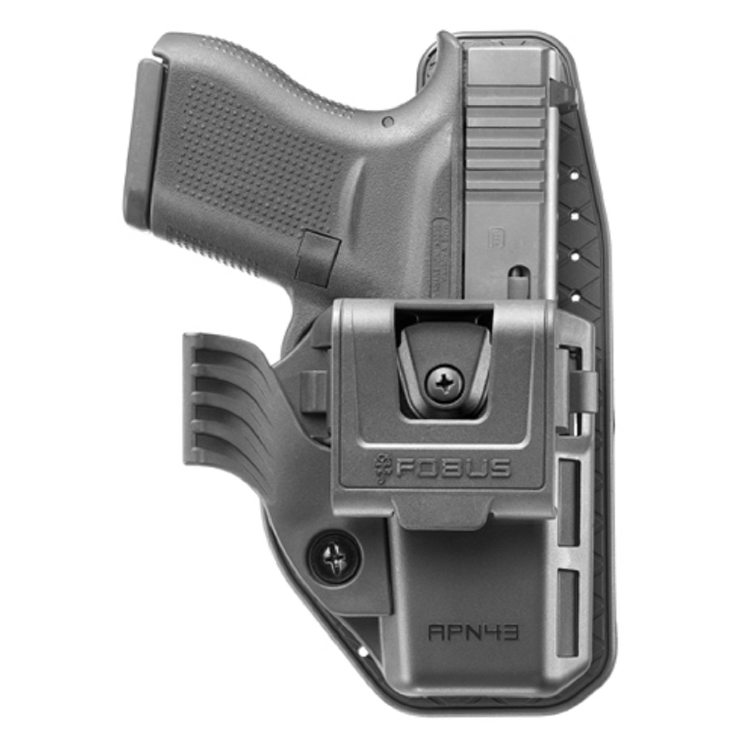 Fobus Appendix Holster Glock 43, Ambidextrous, Black by Fobus