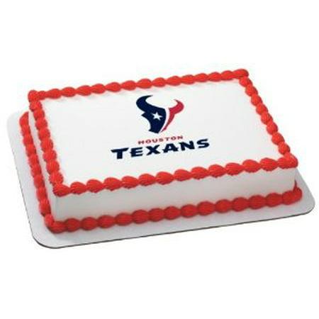 Cakesupplyshop NFL Houston Texans Cake Decoration Edible Frosting ...