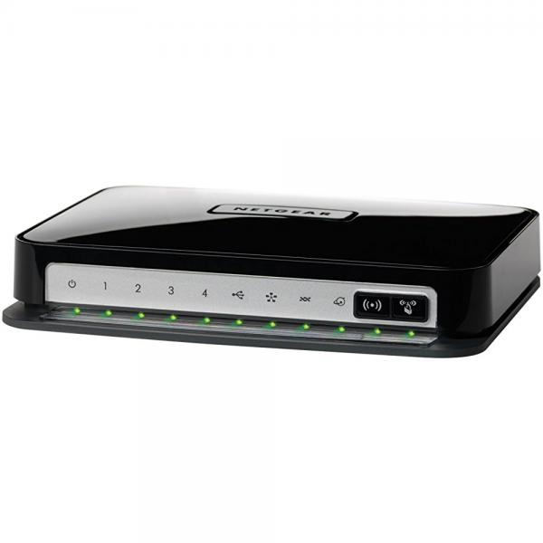 Netgear Wireless-N 300 Router With Dsl Modem Dgn2200 - Wi...