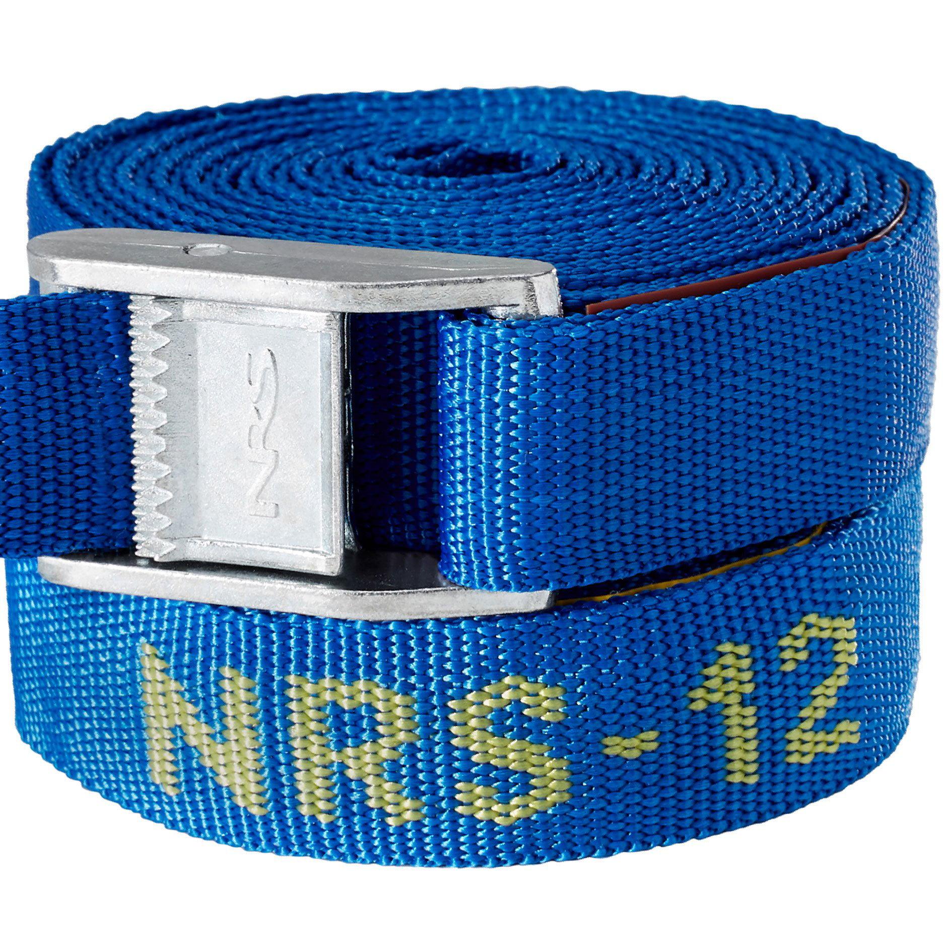 """NRS Single 1"""" Long Heavy Duty Tie Down Boating & Kayaking Strap, Blue (12 Feet) - image 3 de 5"""