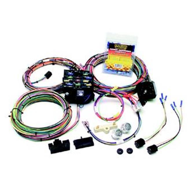 Painless Wrg 10106 Chassis Wiring Harness, 12 Circuit, 1975-1986 Jeep