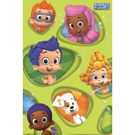 Bubble Tea Poster - Bubble Guppies - Grid Poster Print