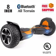 """Hoverboard Two-Wheel Self Balancing Electric Scooter 6.5"""" UL 2272 Certified with Bluetooth Speaker and LED Light (ORANGE)"""