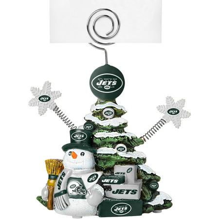 Nfl Holder (Topperscot by Boelter Brands NFL Tree Photo Holder, New York Jets)