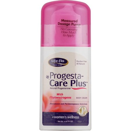 - Life Flo Progesta-Care Plus Progesterone Body Cream, 4 Oz