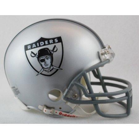 Oakland Raiders Replica Mini Helmet (Oakland Raiders 1963 Throwback Replica Mini Helmet W/ Z2b)