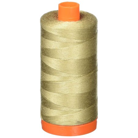A1050-2325 Mako Cotton Thread Solid 50WT 1422Yds Linen, 100Percent long staple mercerized Egyptian Cotton By Aurifil
