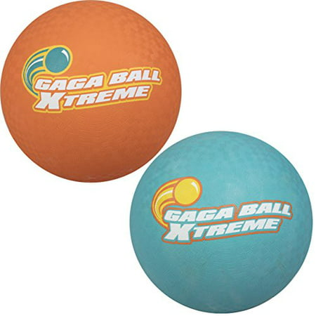 Gacha Ball (Gaga Playground Balls 2pk (8.5 inches) - Durable Rubber, Lightweight and Great for Dodgeball, Kickball, Gagaball Official)