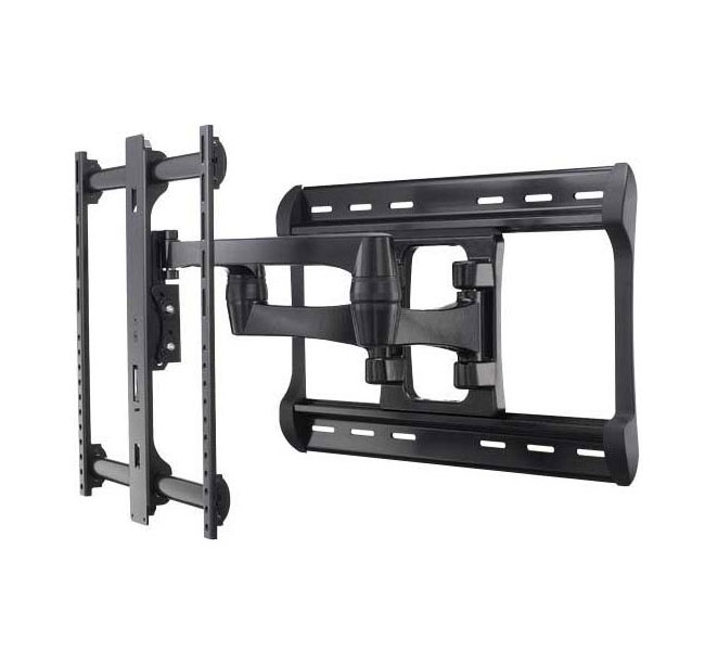 "SANUS Full-Motion Wall Mount Dual Extension Arms for 42""-90"" Flat-Panel TVs, Extends 28"""