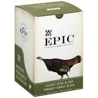 (8 Count) EPIC Jerky Bites, Savory Herb Blend, Turkey, Cranberry & Sage, 2.5oz