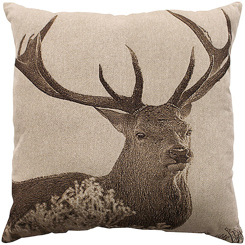 Better Homes and Gardens Deer Decorative Pillow by Natco