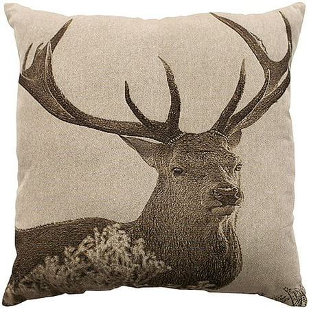 Incredible Better Homes And Gardens Deer Decorative Pillow Inzonedesignstudio Interior Chair Design Inzonedesignstudiocom