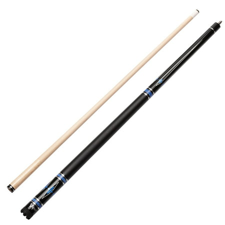 Cue Leather Wrap (Viper Sinister Series Cue with Black Faux Leather Wrap )