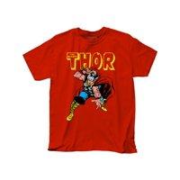 Thor Marvel Superhero Comic Books War Hammer Adult T-Shirt Tee