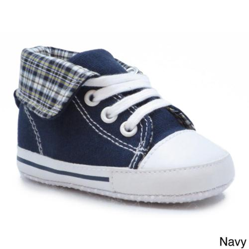 Blue Neutral Childrens 'P-Gate' Canvas Shoes Navy (4-8 M)