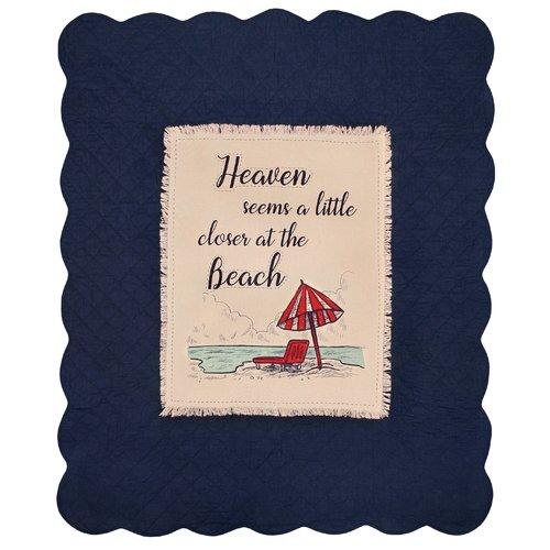 Winston Porter Richart Heavenly Beach Cotton Throw