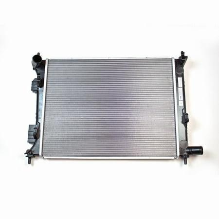 TYC 13252 Replacement Radiator for 12-16 HYUNDAI VELOSTER|12-16 for Kia - 2002 Kia Rio Radiator