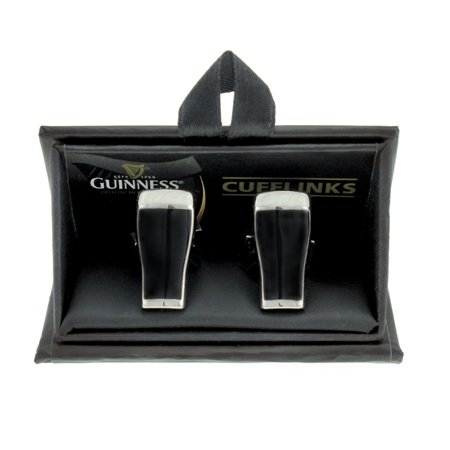 Guinness 3D Pint Cufflinks - Pearl