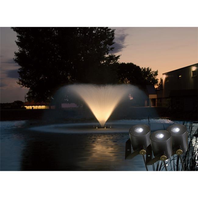 Kasco Marine LED4125250 LED Fountaing Lighting Kit with 4 Fixtures 250 ft.