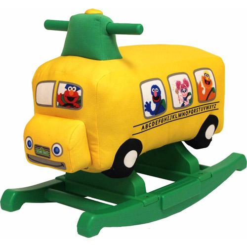 Sesame Street Rocking School Bus Ride-On