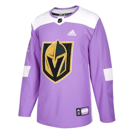 Vegas Golden Knights Hockey Fights Cancer Authentic Jersey, Large (52) Authentic Reebok Nhl Hockey Jersey