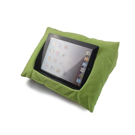Vipe THlet Pillow for IPad Reading Pillow Mini THlet IPad Holder Sofa  Reading Stand iPad Pillow Stand (Green)