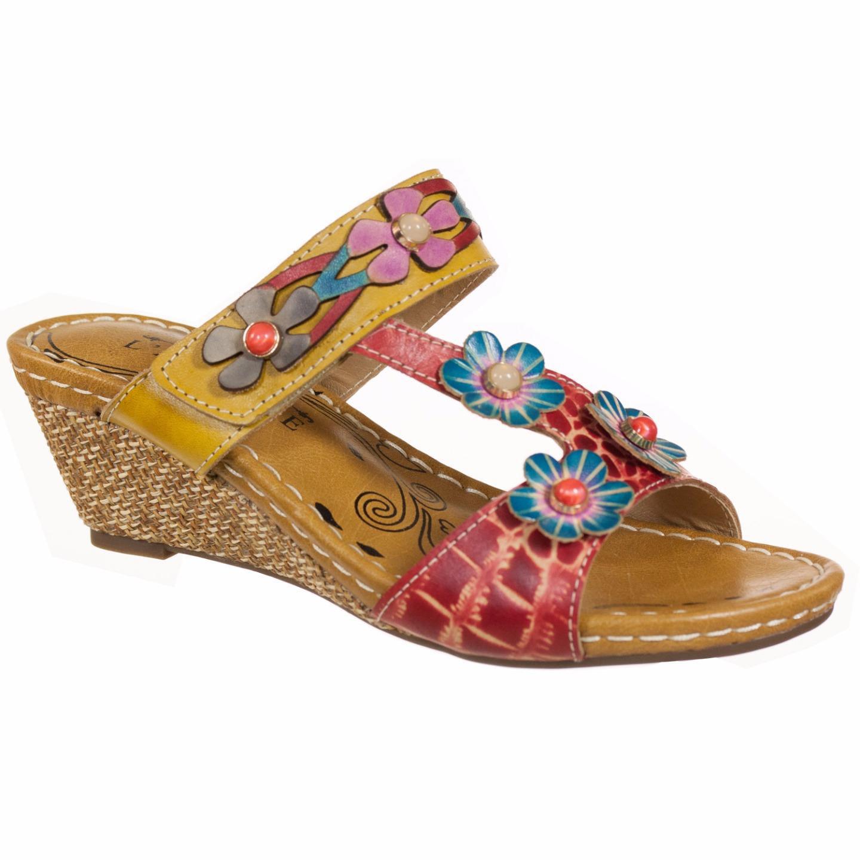 Belinda Spring Step L'Artiste Collection Women's Sandals Camel Multi EU 37 US 7 by Spring Step
