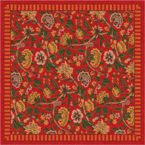 Milliken Pastiche Vachell Indian Red Area Rug