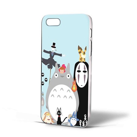 Ganma Studio Ghibli Characters Case For iPhone Case (Case For iPhone 5/5s Black)](Studio Ghibli Happy Halloween)