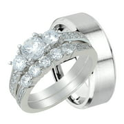 his and hers wedding ring set matching wedding bands for him and her 5 - Wedding Rings For Her And Him