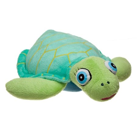 FIESTA TOYS SMALL 6'' NIGHTBUDDIES ALLY THE BABY TURTLE SLEEPY EYES LIGHT UP MY NIGHT BUDDIES PET PILLOW