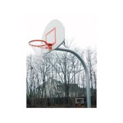 Standard Gooseneck Basketball Package w Fan-Shape Backboard