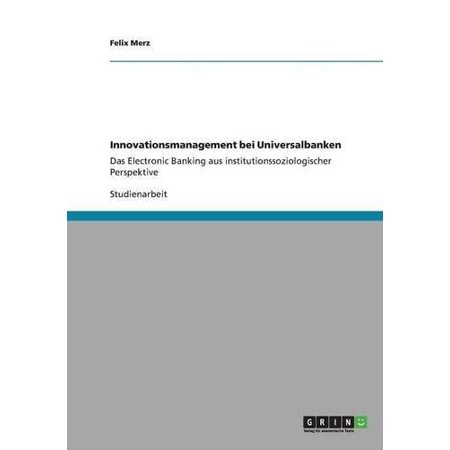 Innovationsmanagement Bei Universalbanken - image 1 de 1