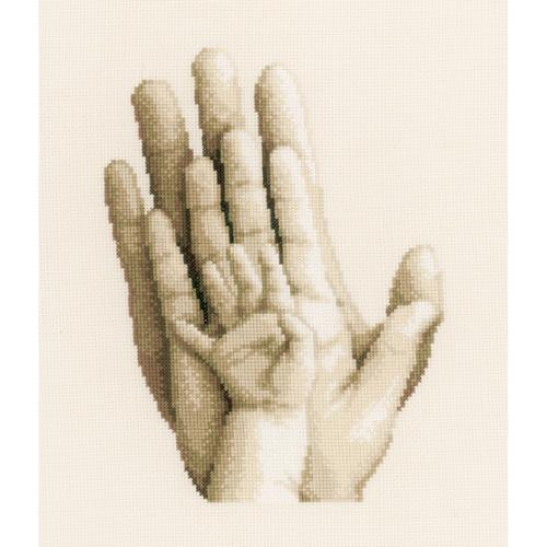 """Hands On Aida Counted Cross Stitch Kit, 8"""" x 10"""", 14-Count"""