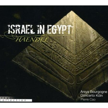 HANDEL: ISRAEL IN EGYPT [HANDEL, GEORGE FRIDERIC] [CD] [1 DISC] [3760107400222]
