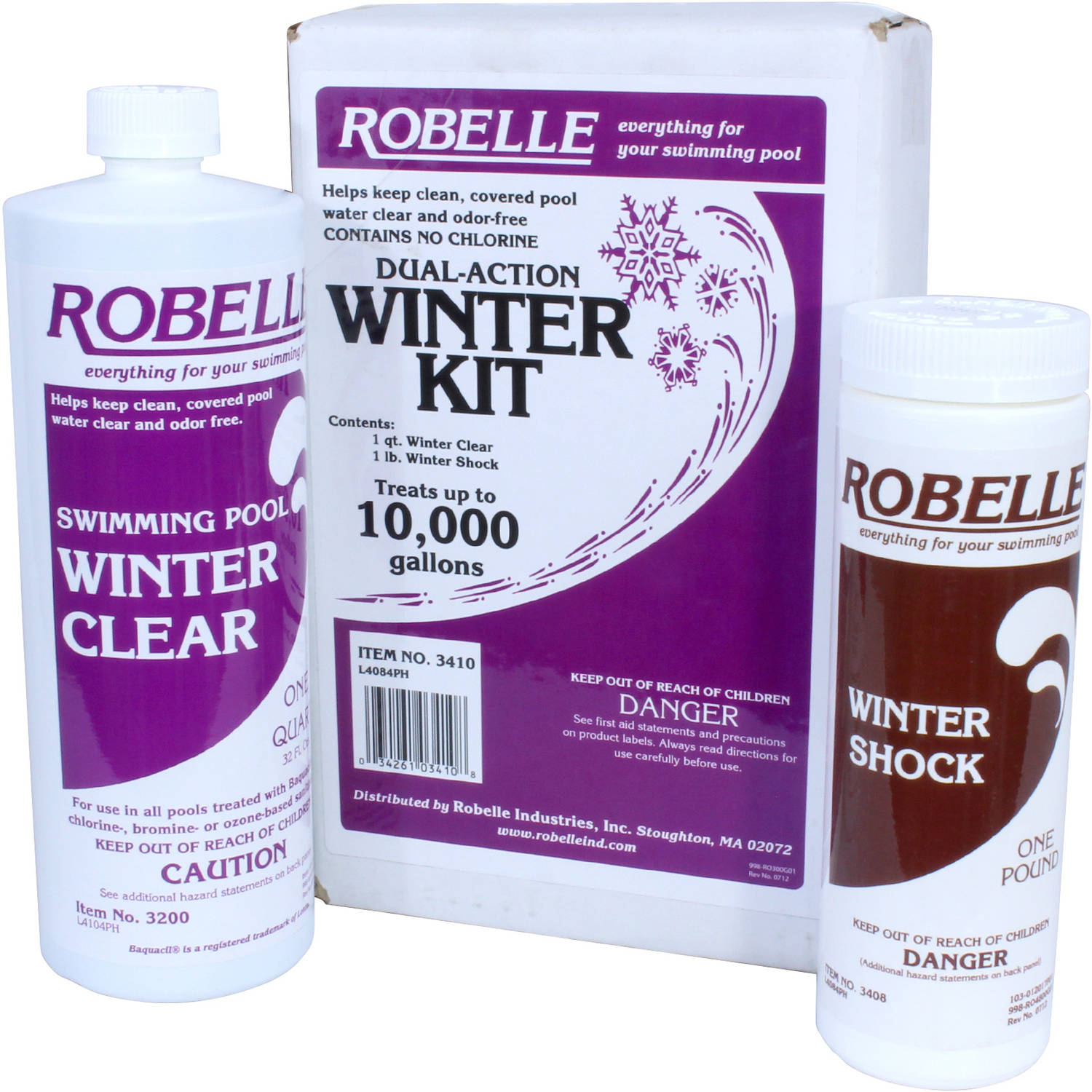 Dual/Triple-Action Winter Kit for Swimming Pools