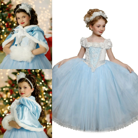 Christmas Gift Dress for Girls 3-4 , Holiday /Party / Costume Christmas Dress for Kids](Christmas Dresses For Children)