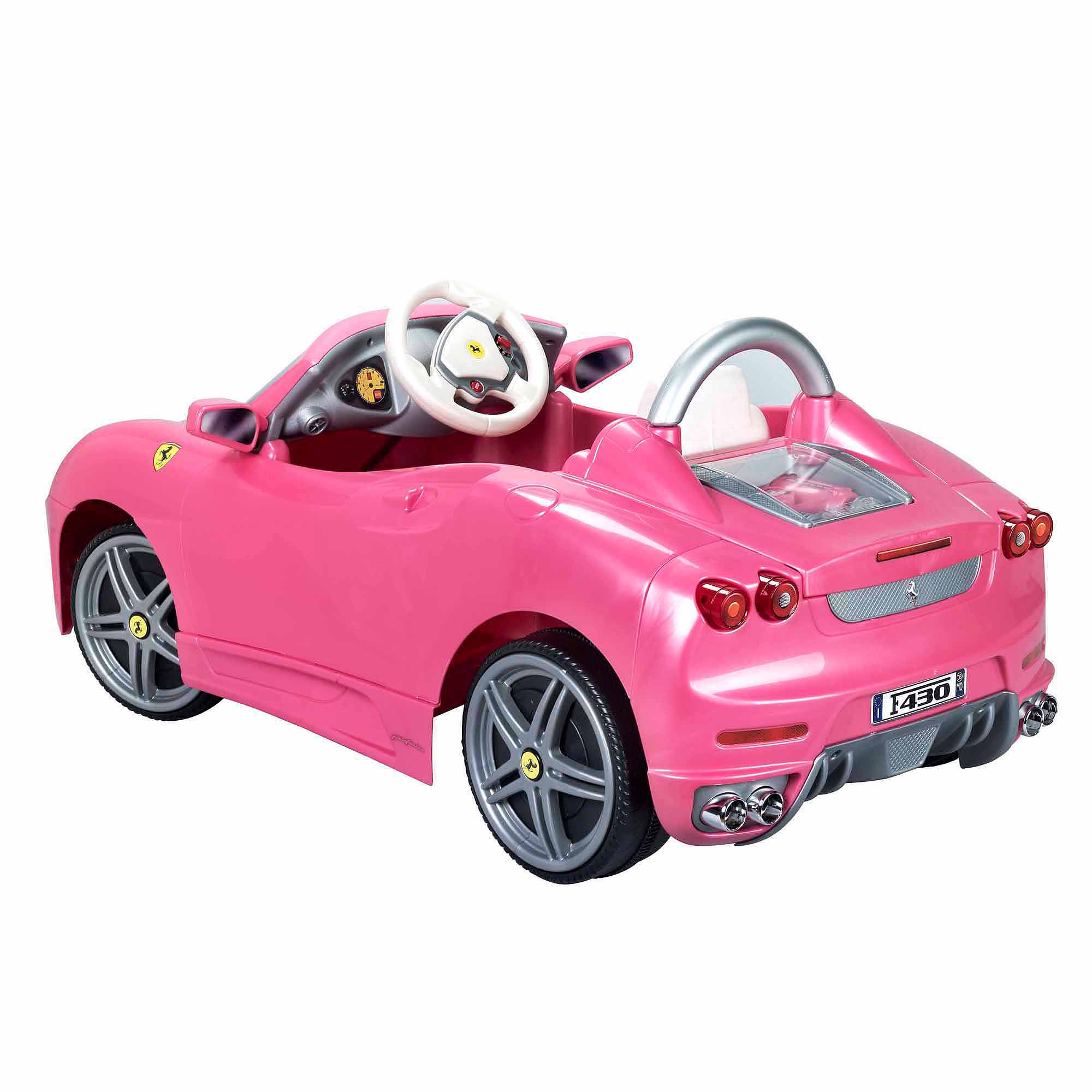 Ferrari F430 6-Volt Battery-Powered Ride-On, Pink