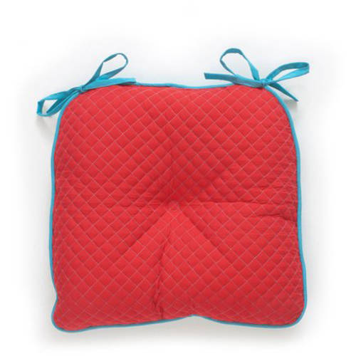 The Pioneer Woman Solid Quilted Reversible Chairpad Walmartcom