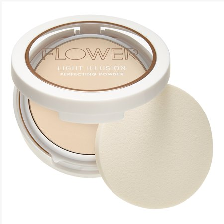 Flower Beauty Light Illusion Perfecting Powder, (Rk International Porcelain Plain Flower)