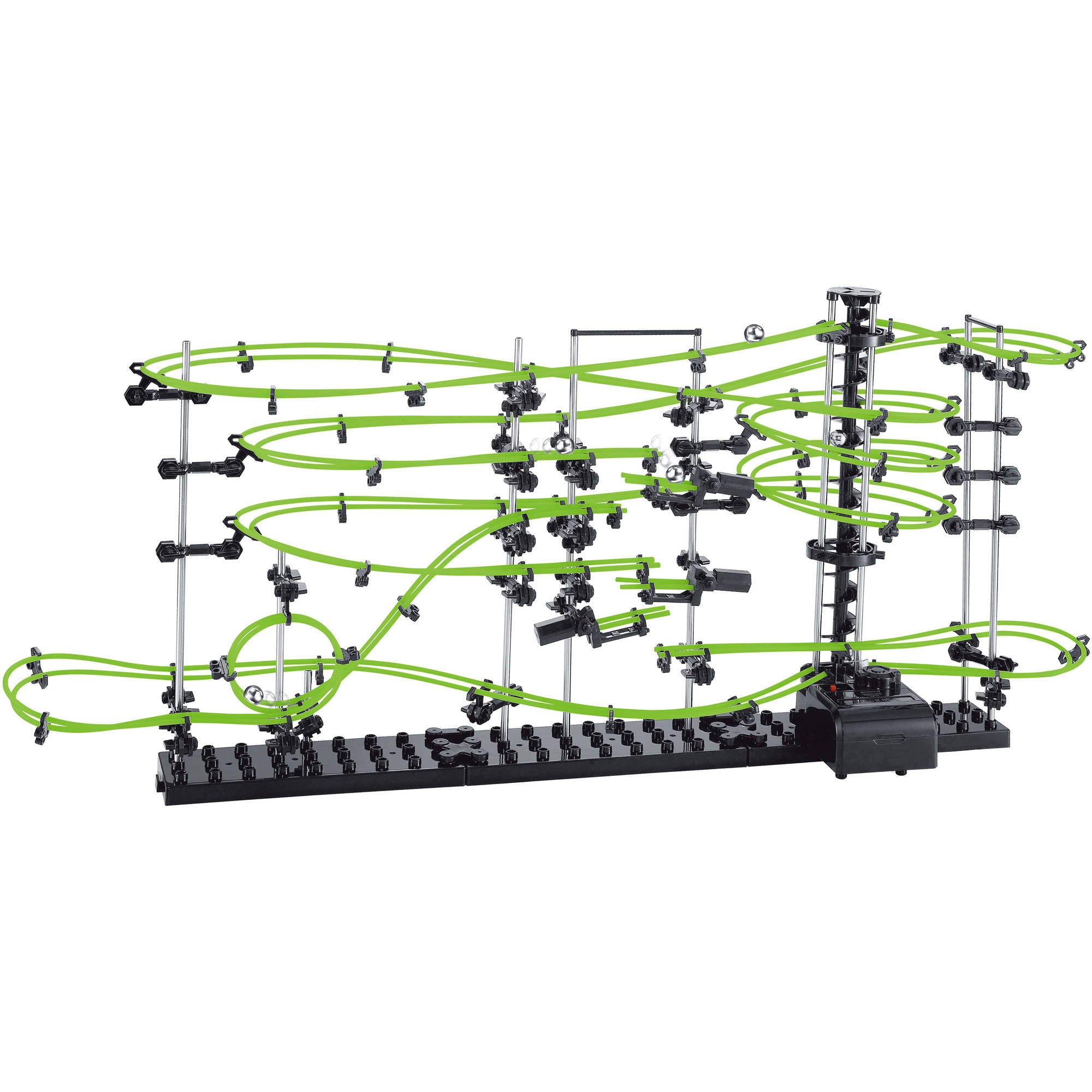 Space Rail Glow in the Dark 13,500mm Rail Marble Game, Level 3