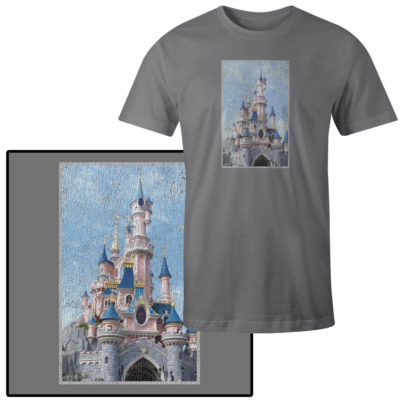 Men's Cinderella Castle in T-Shirt