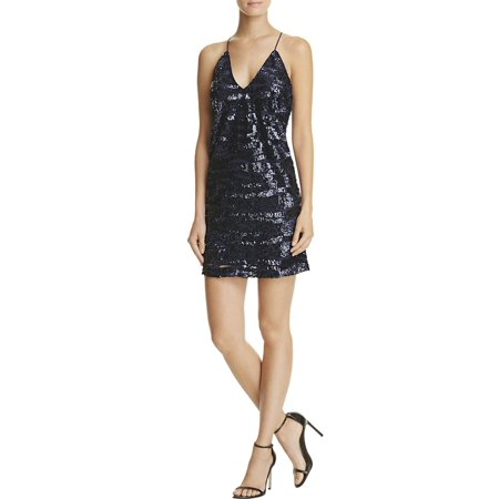 Lucy Paris Womens Sequined Party Mini - Peanuts Lucy Dress