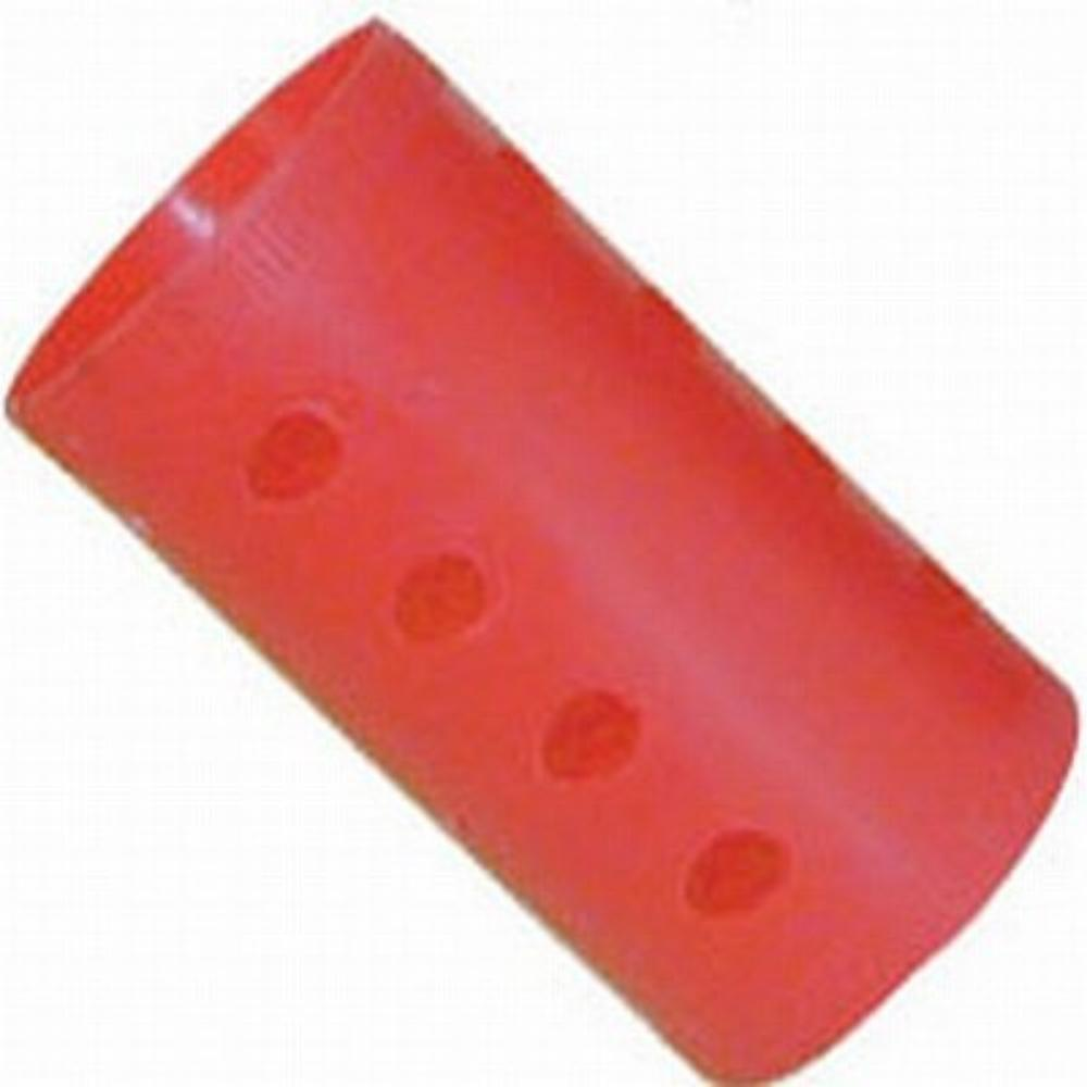 """Soft 'N Style 1-1/2"""" Diameter, Long Smooth Magnetic Rollers Red (Pack of 12), 1-1/2 Dia., Long Red smooth magnetic rollers. By Burmax,USA"""