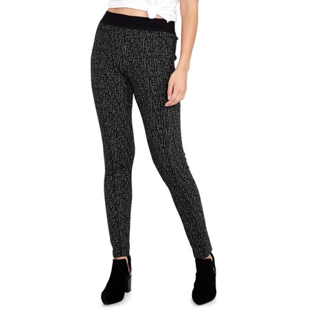 Jacquard Leggings - Rachel Rachel Roy Womens Jacquard Skinny Leggings Black XS