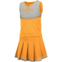 Tennessee Volunteers Colosseum Girls Youth Pinky Cheer Dress - Tennessee Orange