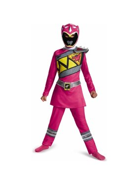 Pink Power Ranger Dino Charge Classic Child Halloween Costume