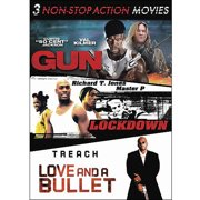 3 Non-Stop Action Movies: Gun   Lockdown   Love And A Bullet (Widescreen) by