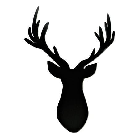 Large Iron Wall - Large Deer Antler 36