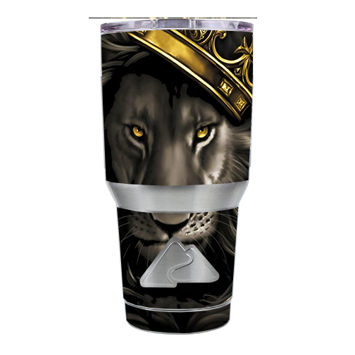 Skin Decal For Ozark Trail 30 Oz Tumbler Cup (6-Piece Kit) / The King Of The Jungle